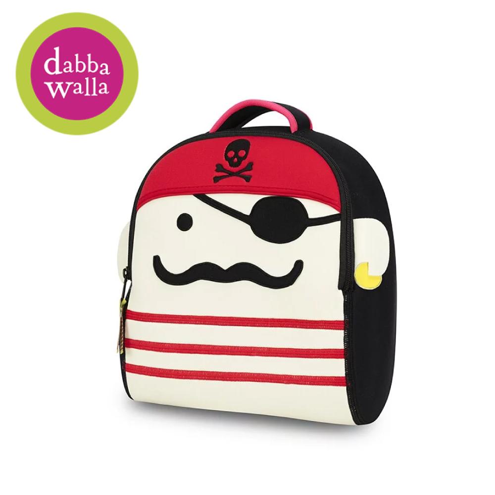 美國Dabbawalla瓦拉包 -瓦拉海盜兒童後背包