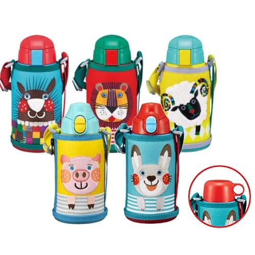 【TIGER虎牌】 600cc動物造型童用保溫保冷瓶(MBR-T06G)-兔子