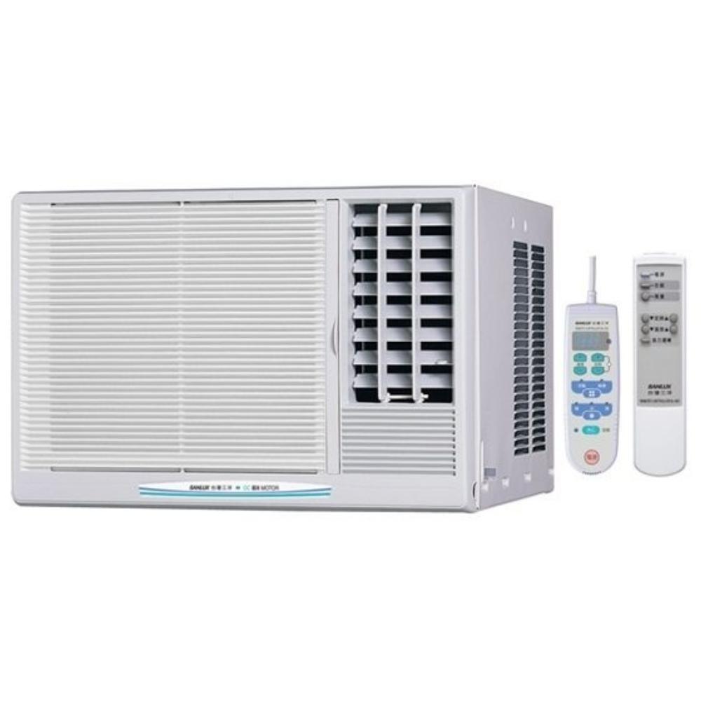★含標準安裝★【SANLUX台灣三洋】定頻窗型冷氣3坪SA-R221FEA 電壓110V右吹