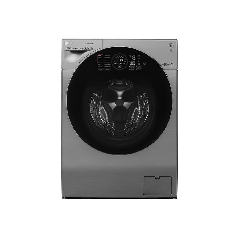 LG樂金 WD-S12GV WiFi極窄美型滾筒洗衣機(蒸洗脫烘) 星辰銀/ 12公斤 (贈野餐三件組、直流風扇、28公分炒鍋)