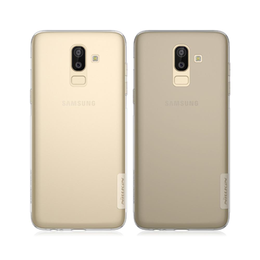 NILLKIN SAMSUNG Galaxy J8 本色TPU軟套(深灰)