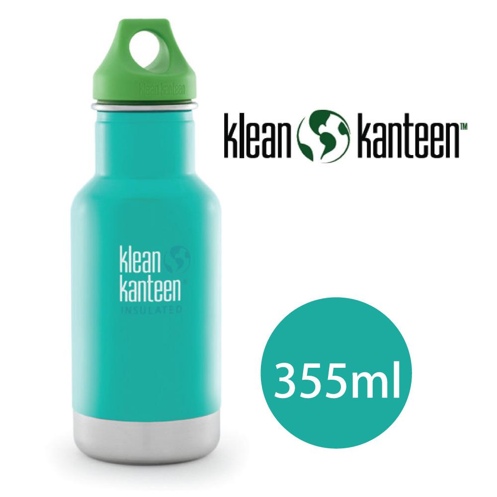 【美國Klean Kanteen】幼童窄口不鏽鋼保溫瓶-355ml-潮汐藍(9/30~10/3訂單會延後至10/5開始出貨)