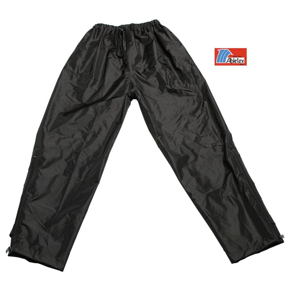 犀牛 RHINO  雪巴高級透氣防水雨褲(黑)-XL