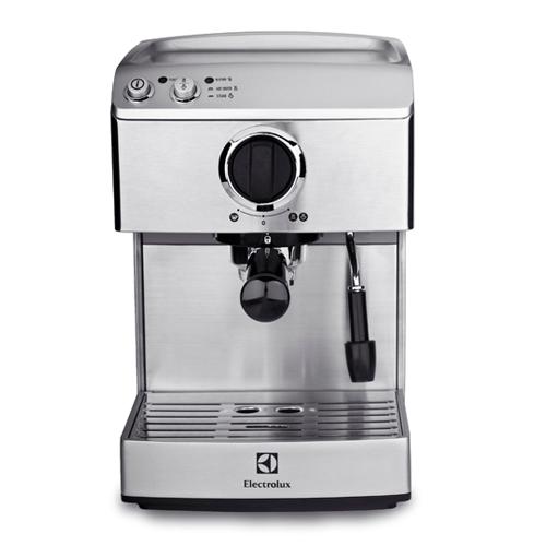 ★超凡品味★【Electrolux伊萊克斯】設計家 不鏽鋼義式咖啡機 (EES200E)
