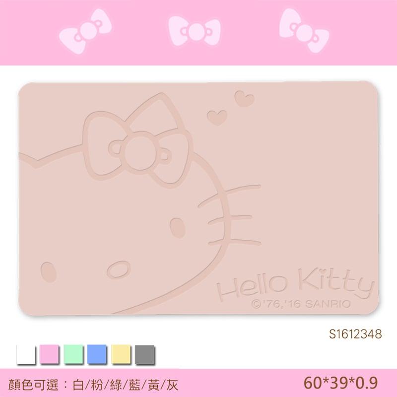 【三麗鷗獨家授權】Hello Kitty珪藻土吸水地墊//復刻甜心-粉