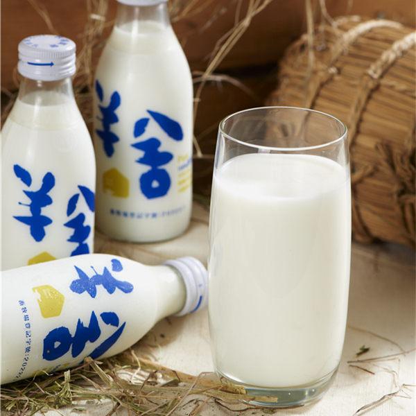 《羊舍》鮮羊乳(180ml/瓶,共6瓶)