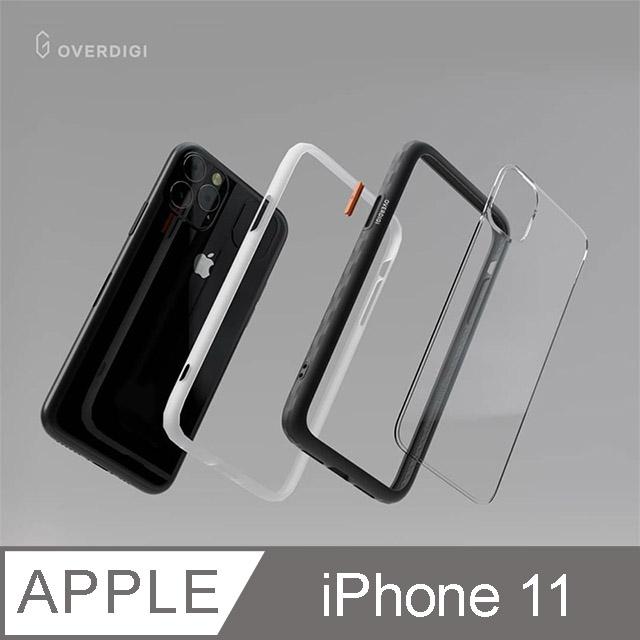 OVERDIGI OC Diamond iPhone 11 鑽石框抗污防摔邊框殻 橄欖綠