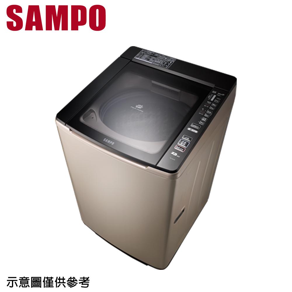 好禮送【SAMPO 聲寶】16公斤變頻洗衣機ES-JD16P