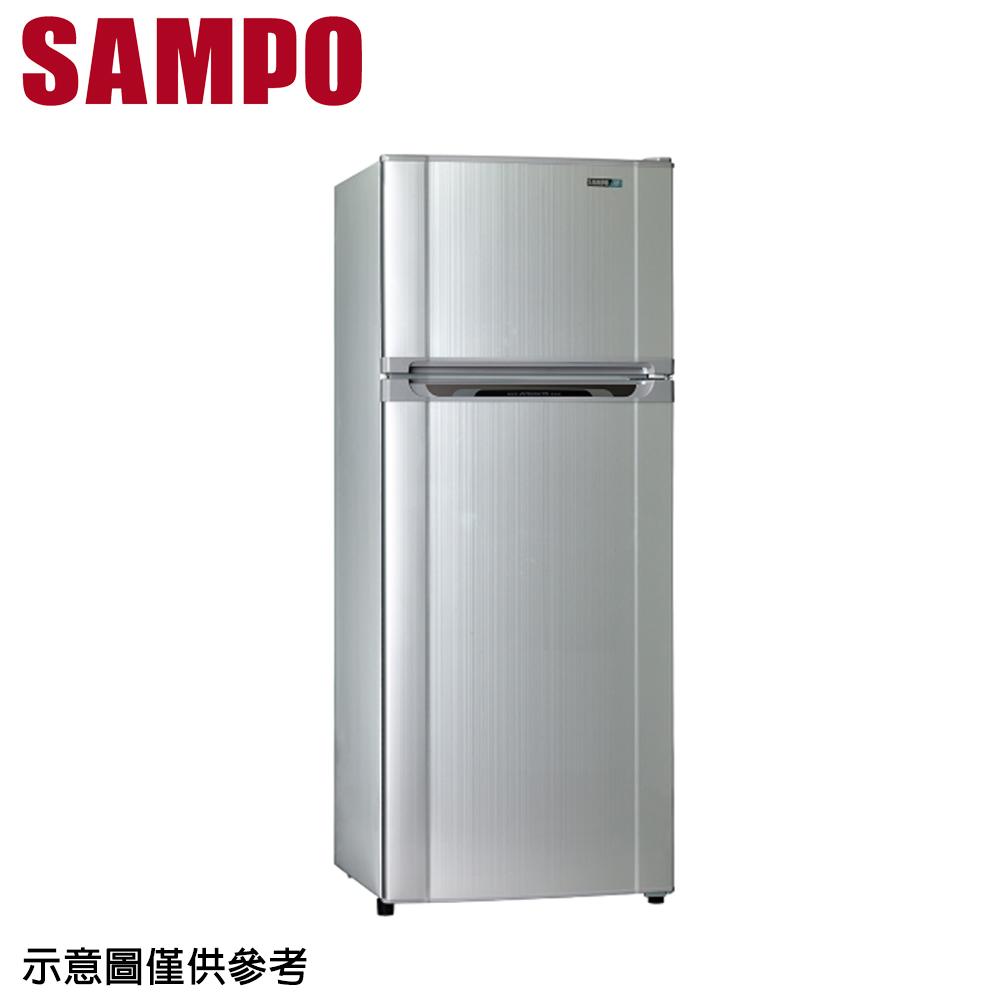 【SAMPO聲寶】340公升定頻雙門冰箱SR-L34G(S2)