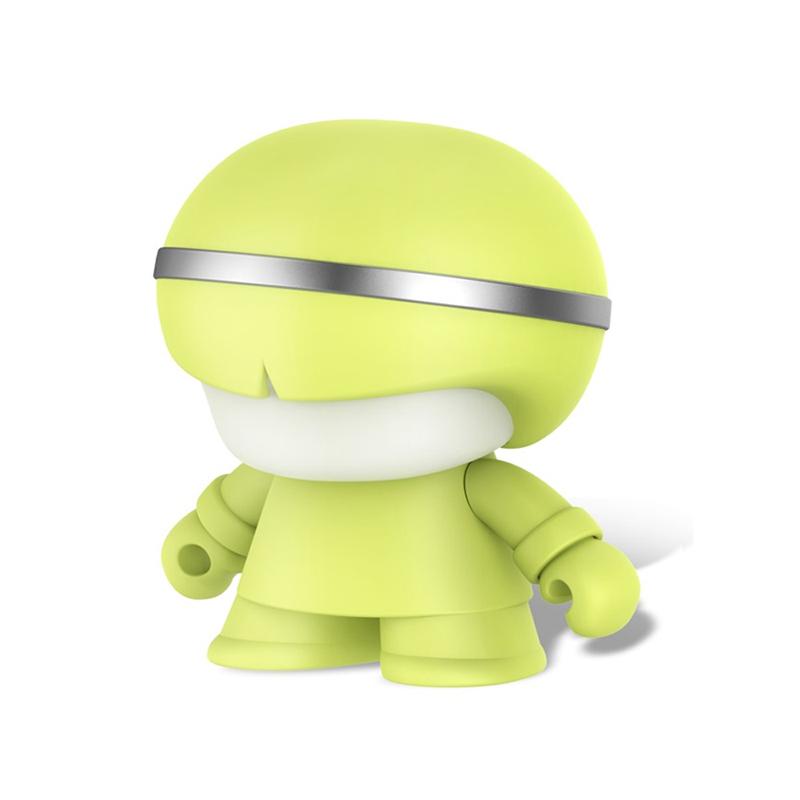 Xoopar BOY MINI X3 藍牙喇叭&自拍遙控器-萊姆色