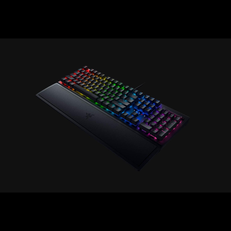 雷蛇RAZER BLACKWIDOW 黑寡婦V3【綠軸】 機械式RGB鍵盤