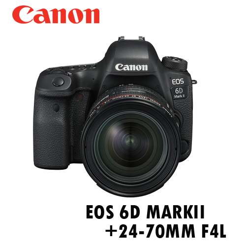 Canon EOS 6DMARKII+24-70mm F4L 公司貨