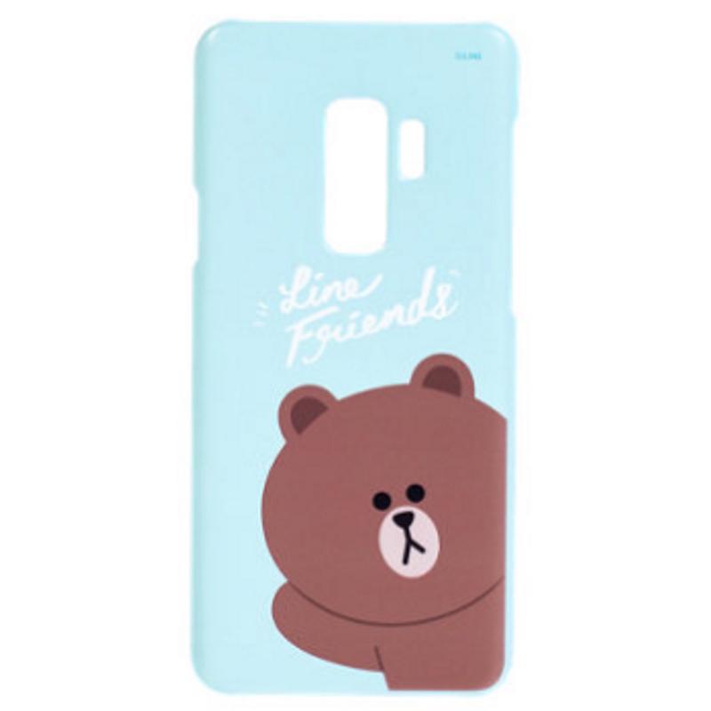 SAMSUNG Galaxy S9+ LINE Brown熊大 FRIENDS 背蓋