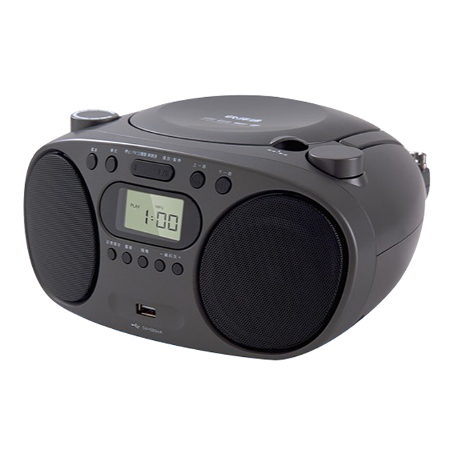 【Abee快譯通】手提CD藍芽立體聲音響 CD57