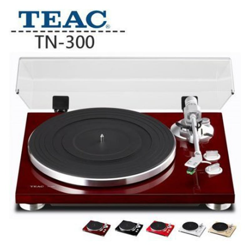 TEAC TN-300 黑膠播放器 類比唱盤 Turntable  白色