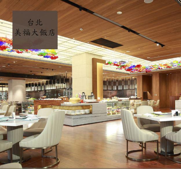 台北美福大飯店彩匯自助餐平日下午茶雙人券-2張