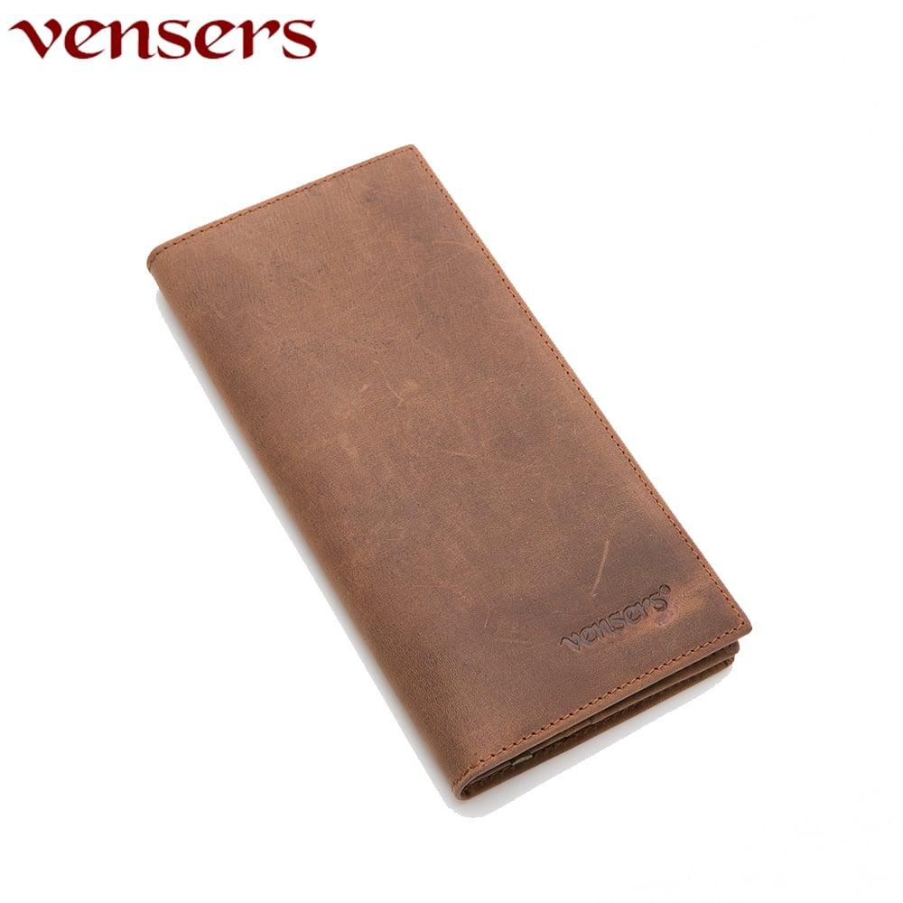 【vensers】小牛皮潮流個性皮夾~(NB810001瘋馬皮長夾)