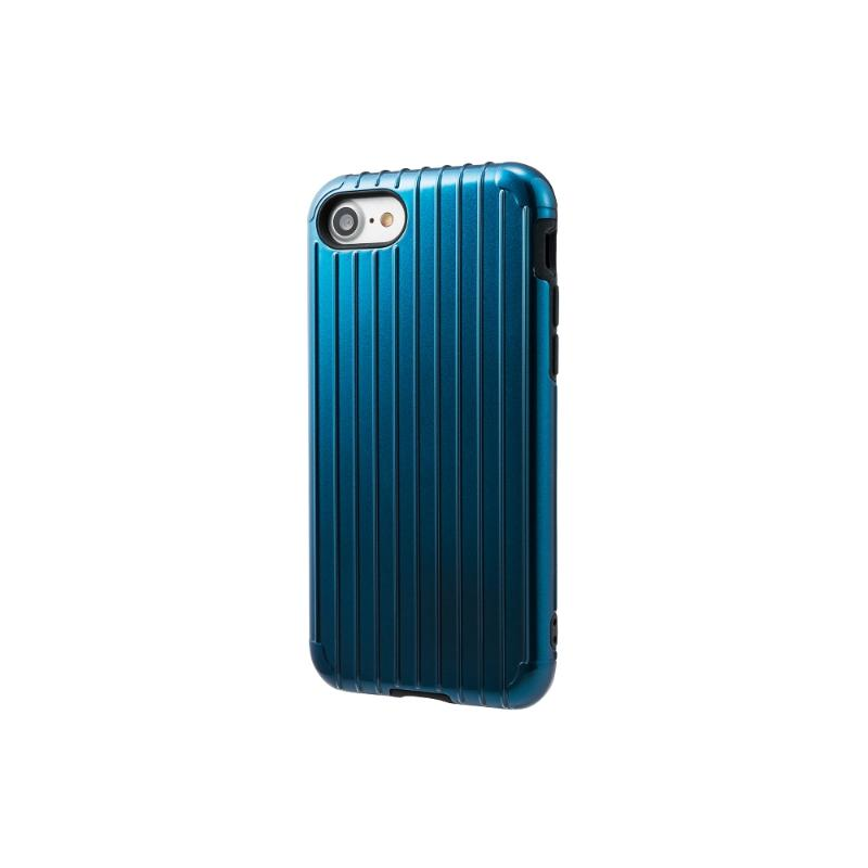 Gramas iPhone8/7  經典手機殼 Rib 藍