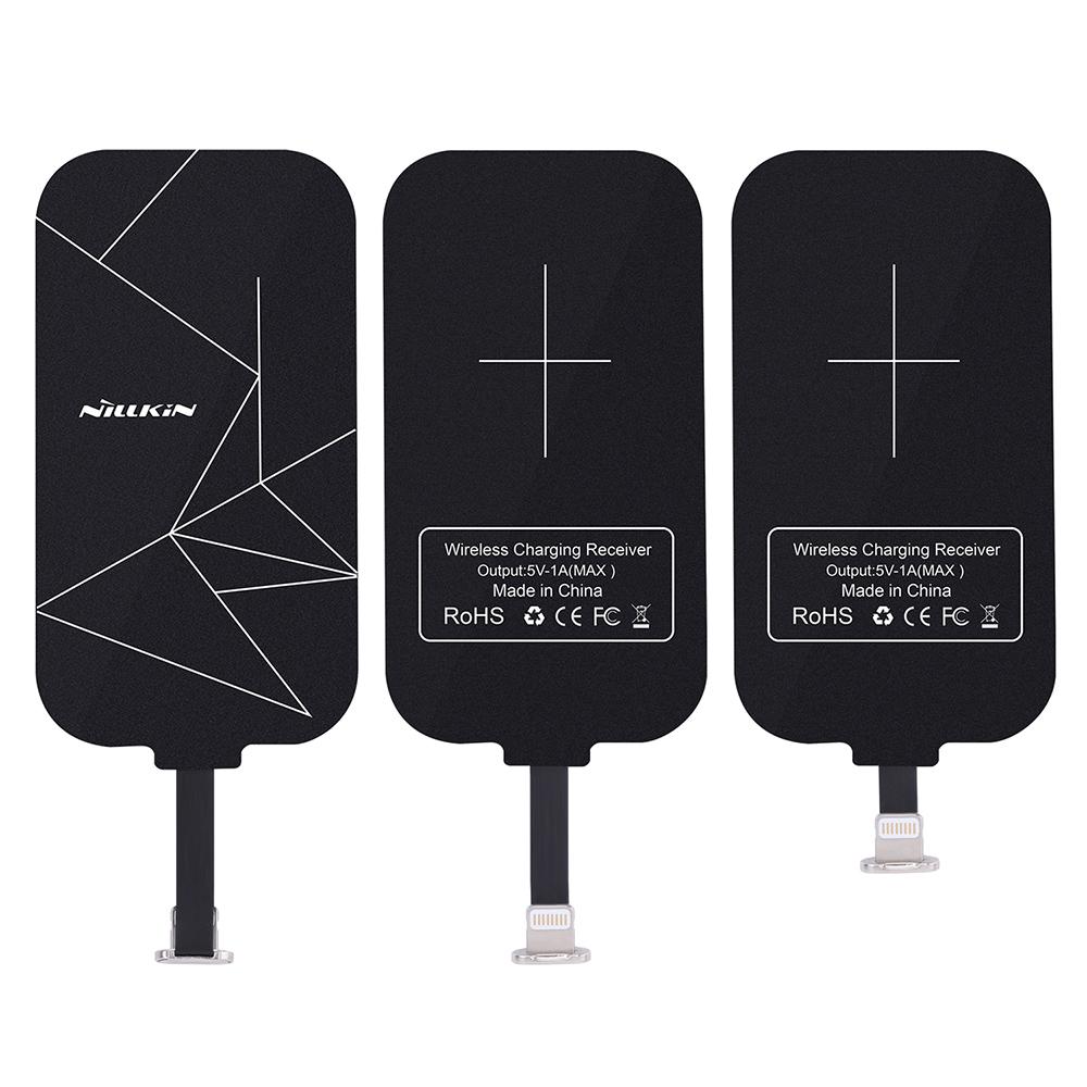 NILLKIN Lightning 能量貼無線充電貼片(長款)