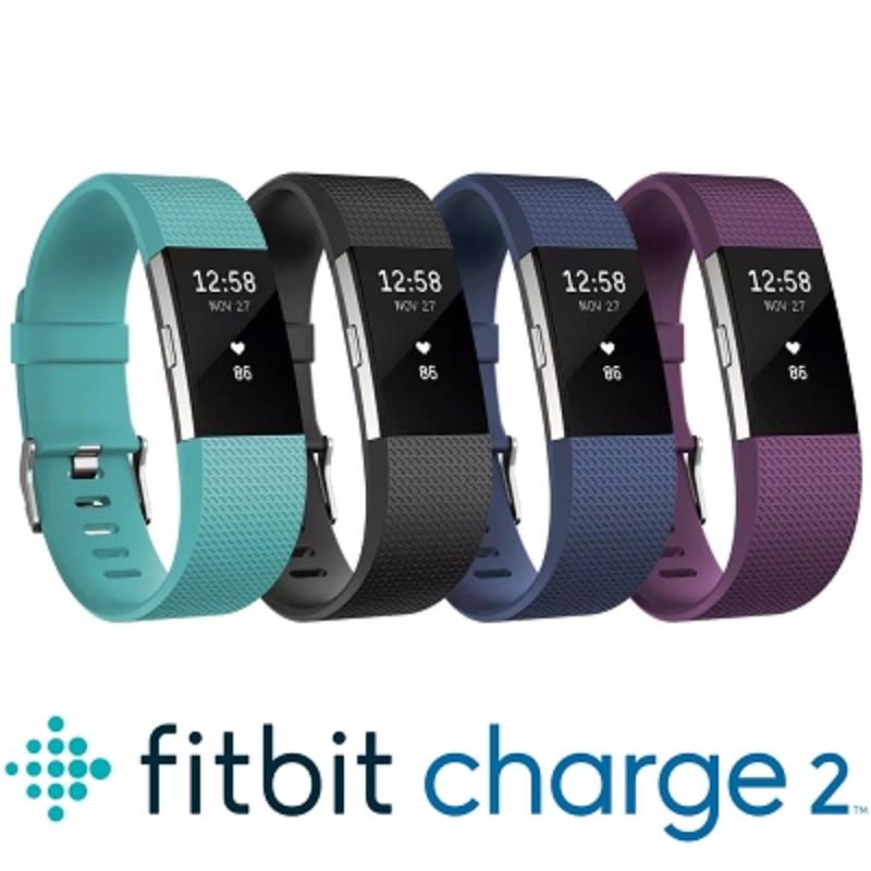 Fitbit Charge 2 (黑色-S) 智能樂活全能運動 睡眠偵測 內建心率 公司貨 保固一年