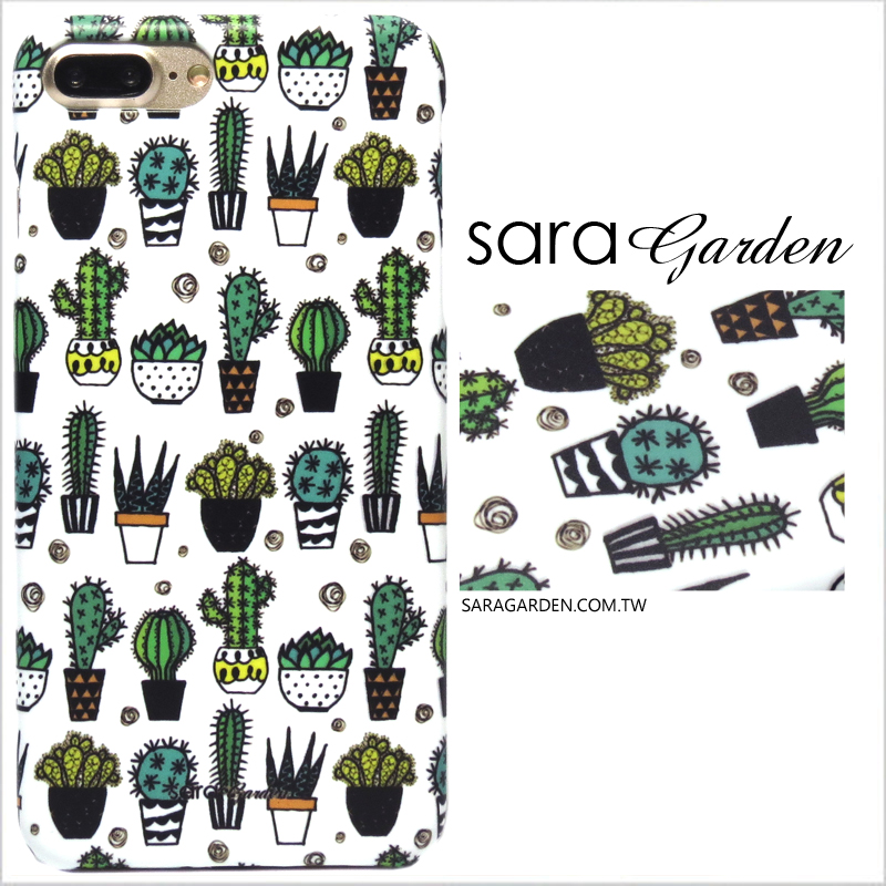 【Sara Garden】客製化 手機殼 SONY XA2 Ultra 仙人掌盆栽 手工 保護殼 硬殼