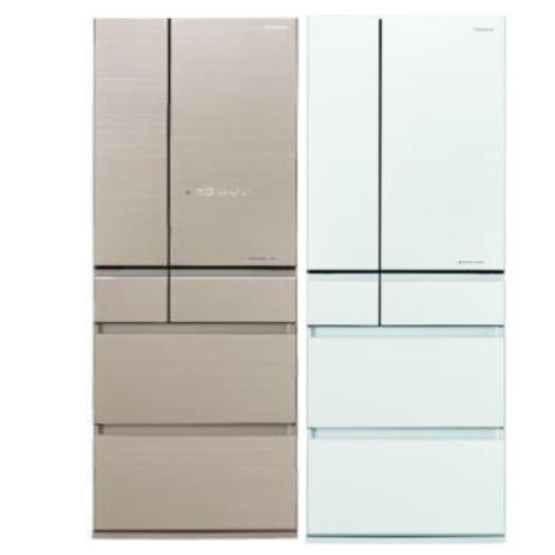 【Panasonic國際牌】550L 變頻6門電冰箱-翡翠白 NR-F554HX-W1