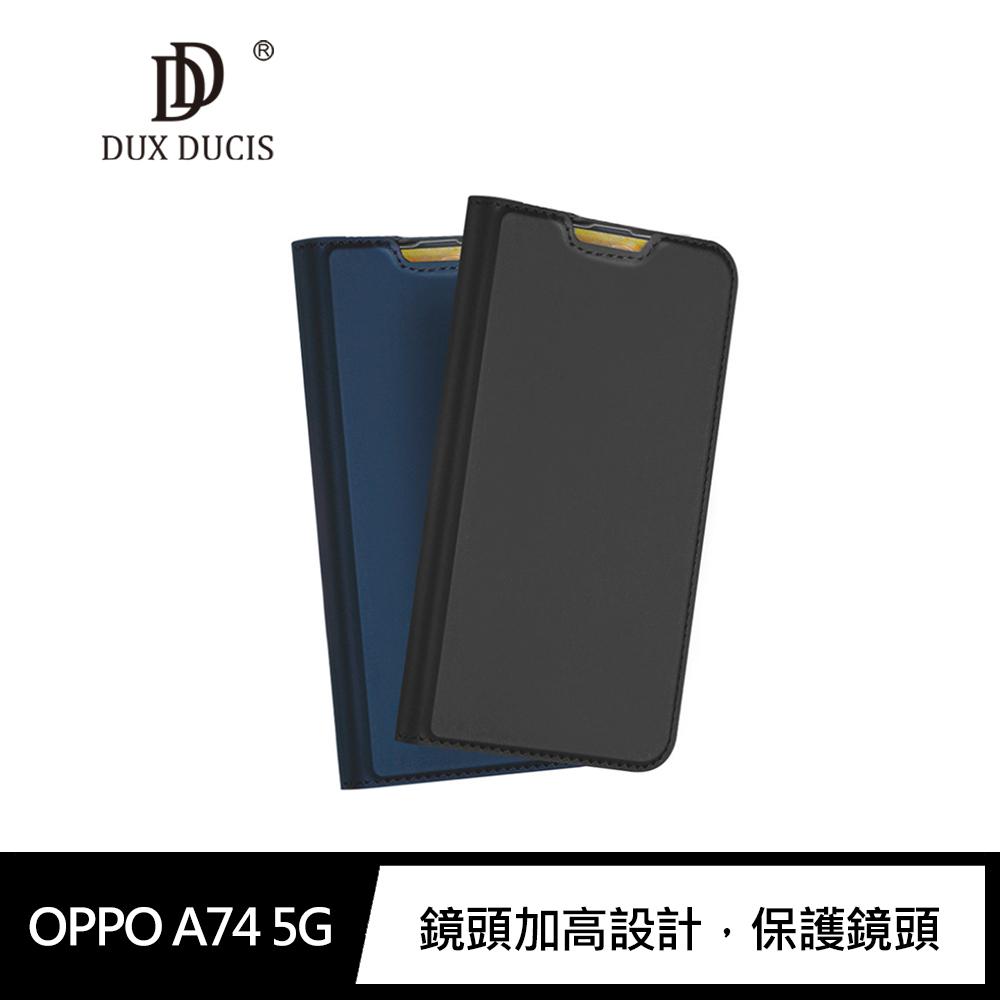 DUX DUCIS OPPO A74 5G SKIN Pro 皮套(藍色)