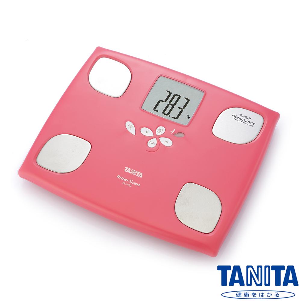 【日本TANITA】十合一女性減重模式體組成計BC750-玫瑰紅