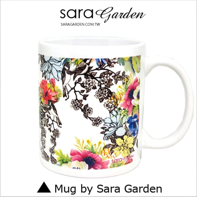 【Sara Garden】客製化 陶瓷 馬克杯 咖啡杯 清新碎花