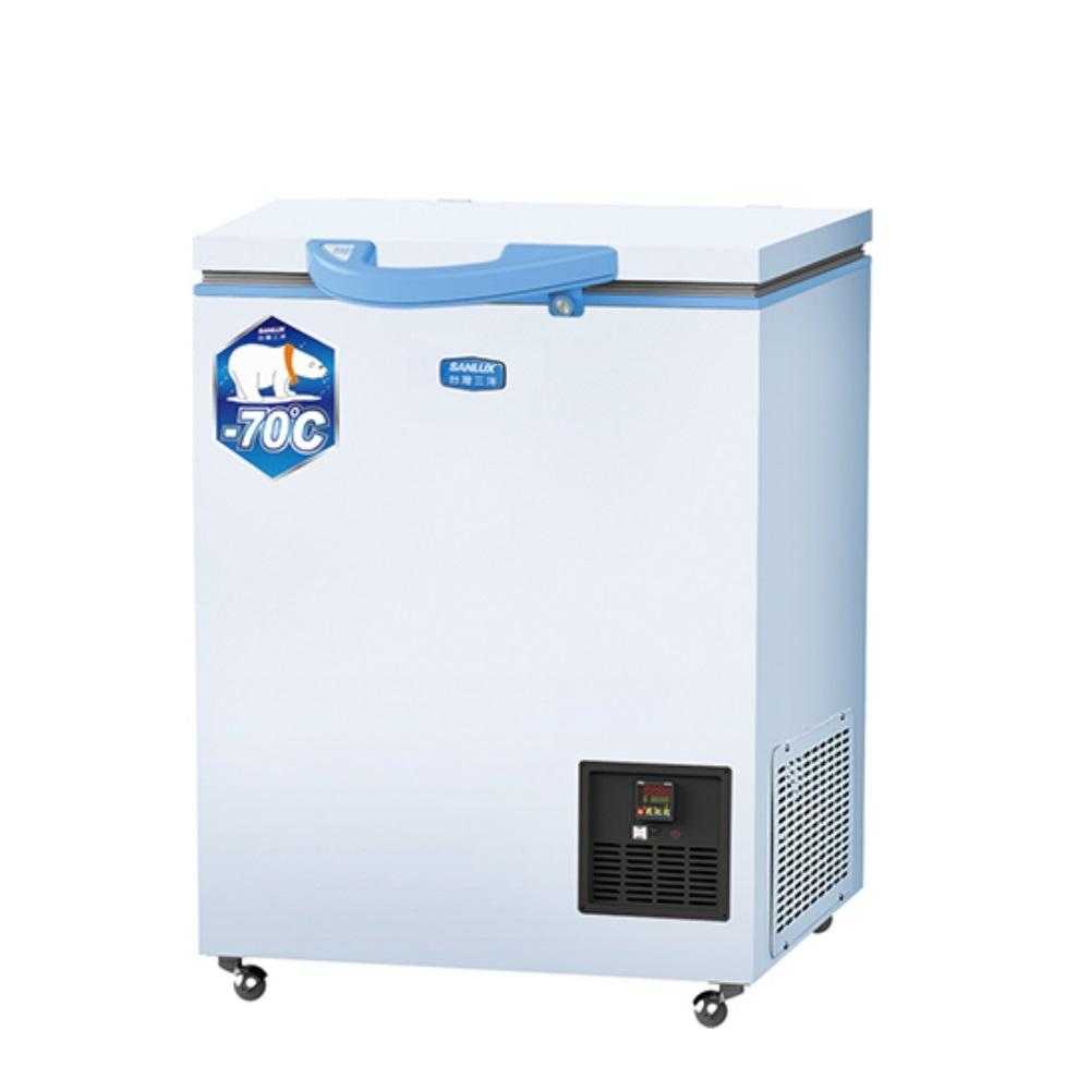 SANLUX台灣三洋超低溫冷凍櫃100L冷凍櫃TFS-100DD