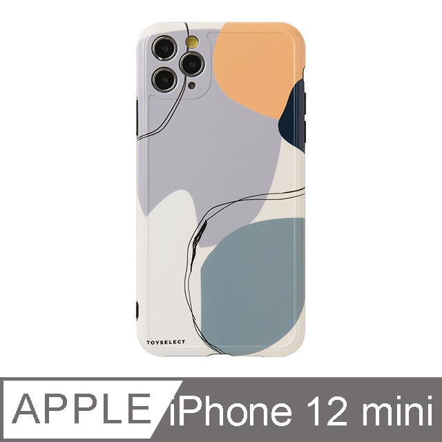 iPhone 12 Mini 5.4吋 Smilie藝術時空迴廊iPhone手機殼 藍紫夢境