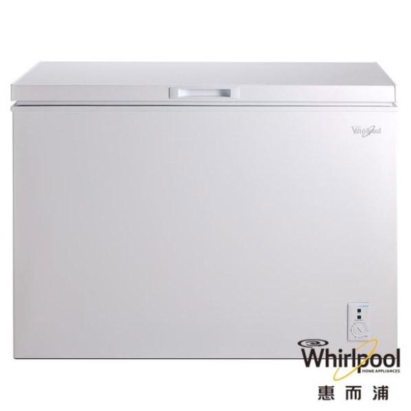 【Whirlpool 惠而浦】255L臥式冷凍櫃/冰櫃 WCF255W1