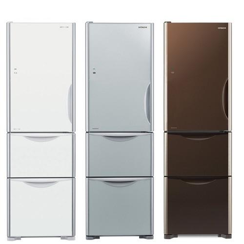 HITACHI日立331公升三門冰箱RG36BL/RG36BLGPW琉璃白