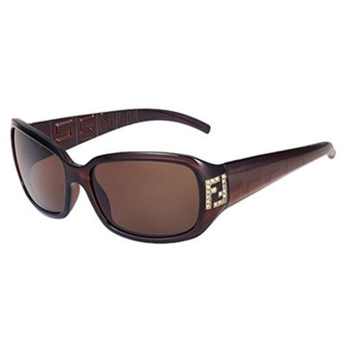 FENDI 水鑽 LOGO 太陽眼鏡 350R