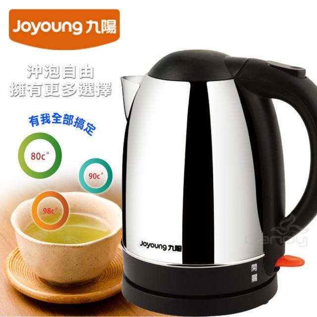 【九陽JOYOUNG】不鏽鋼快煮壺JYK-17C10M