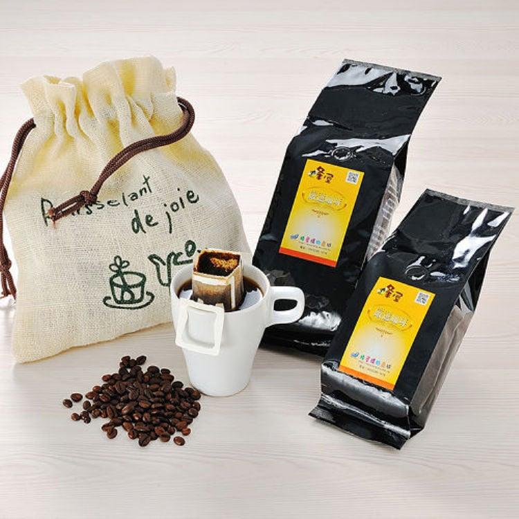 《蜂屋》曼巴(半磅)+摩卡(半磅),單品咖啡豆組合包
