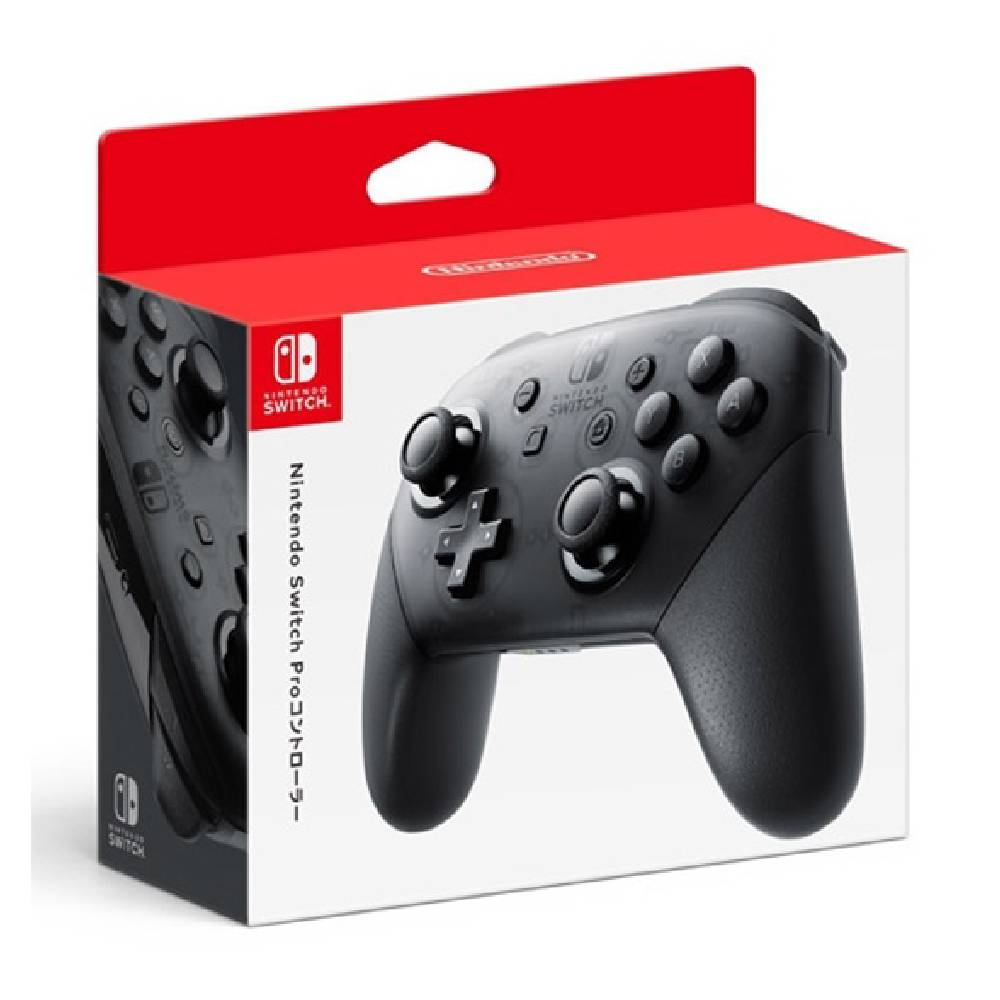 Nintendo Switch Pro 控制器 黑 (台灣公司貨)