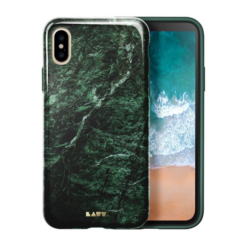 LAUT  經典大理石系列iPhoneX 綠