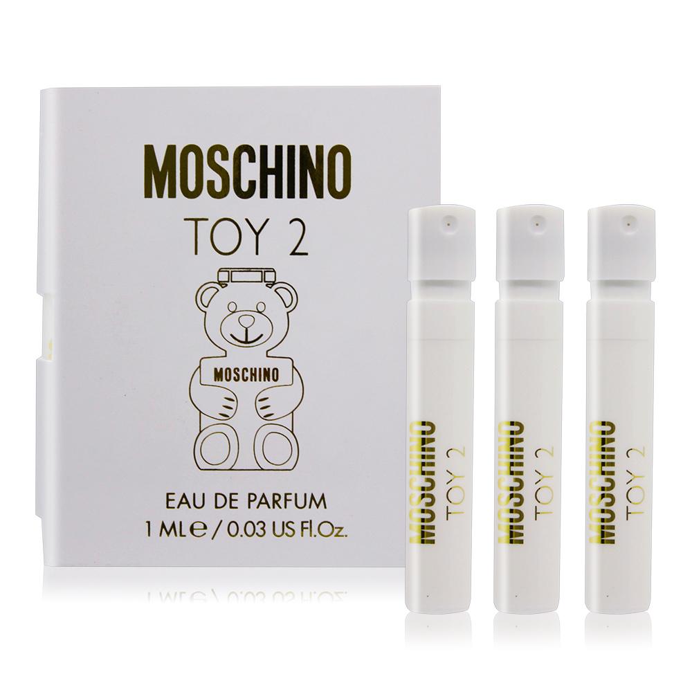 MOSCHINO 莫斯奇諾 熊芯未泯2女性淡香精(1ml)X3 EDP-香水隨身針管試香