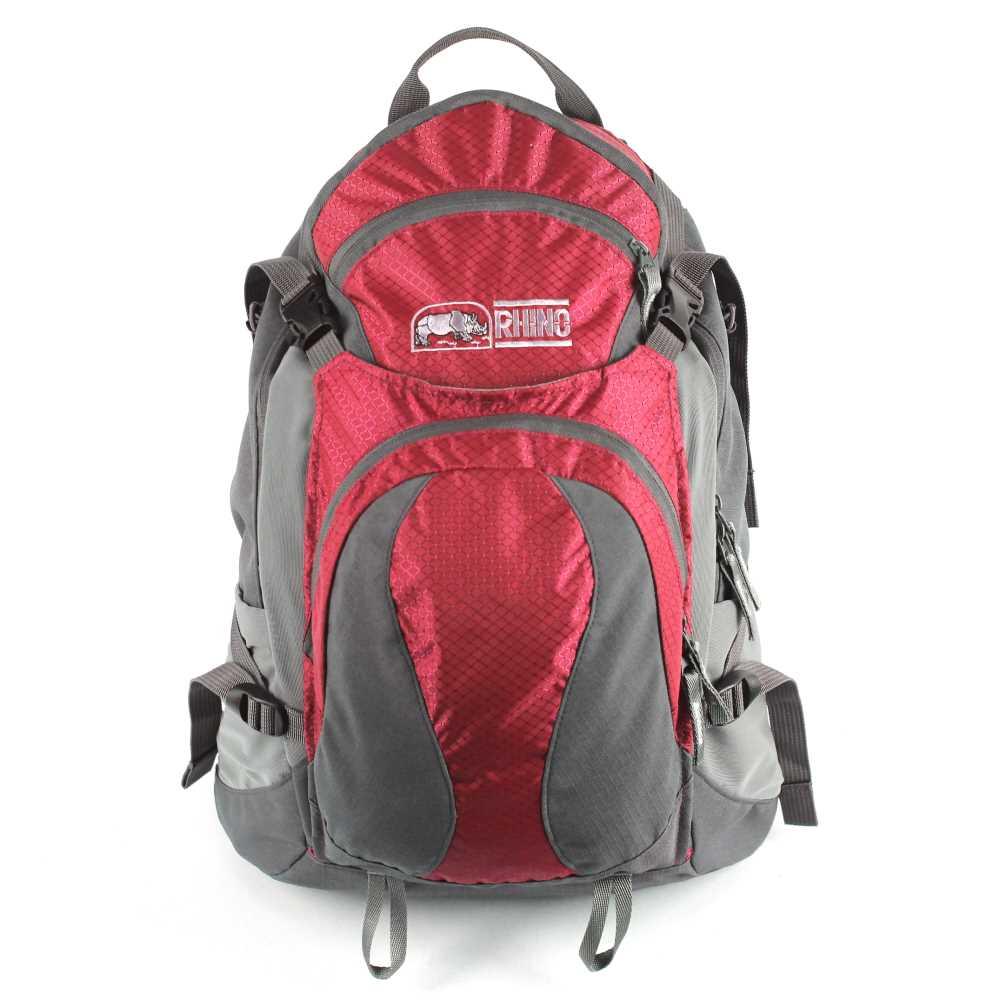 犀牛 RHINO  TrekLite 19公升透氣網架背包-紅
