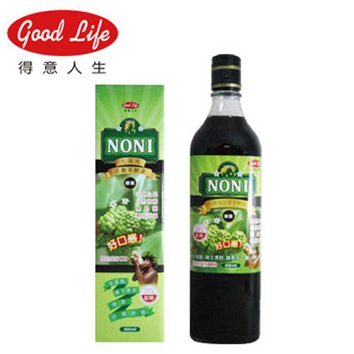 【買一送一】【得意人生】大溪地諾麗果酵素飲(600ml/瓶)