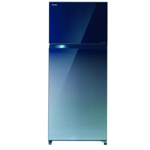 【TOSHIBA東芝】510公升雙門變頻冰箱無邊框玻璃 GR-AG55TDZ(GG)
