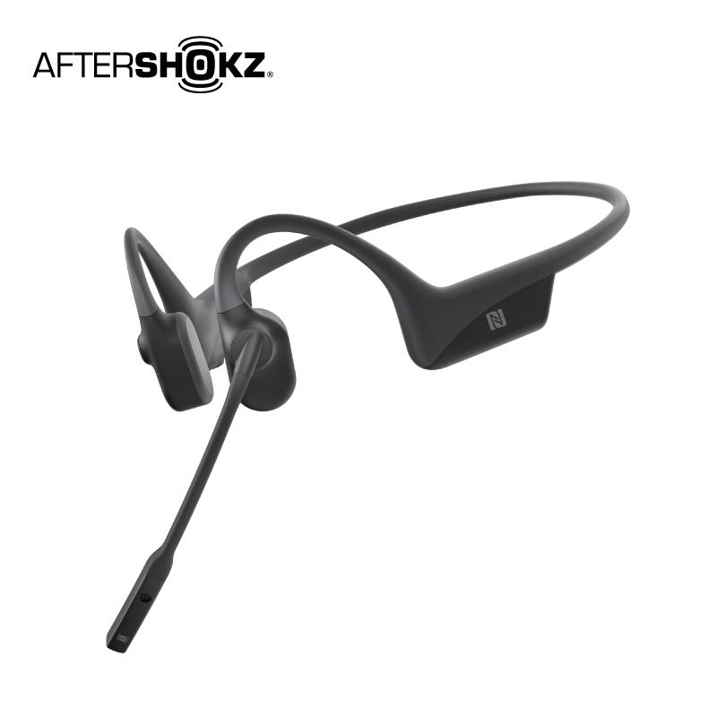 AfterShokz OpenComm ASC100骨傳導藍牙通訊耳機-曜石黑