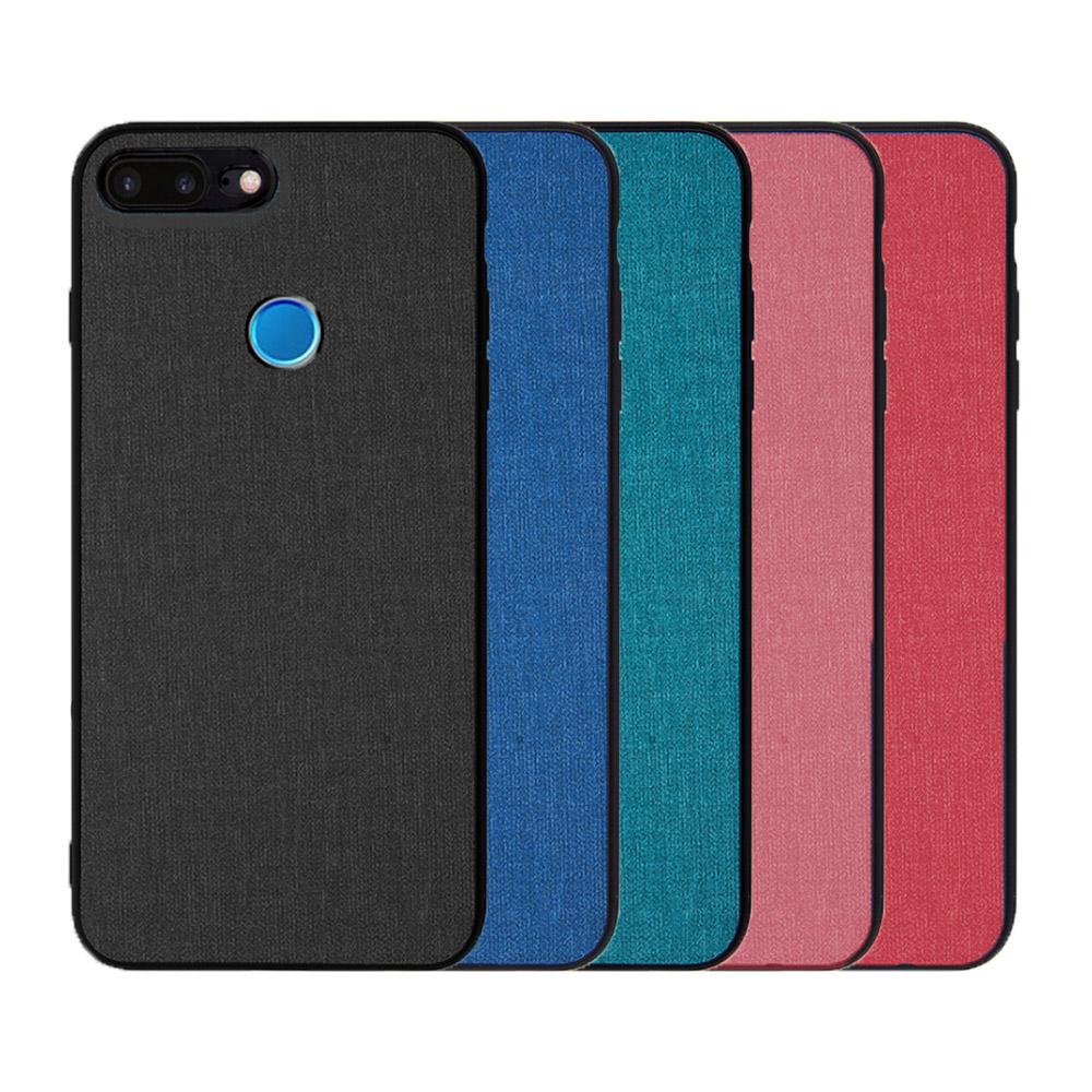 QinD MIUI 紅米 6 布藝保護套(青藍色)