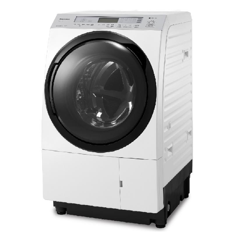 Panasonic 日本製洗脫烘滾筒洗衣機 金燦白 (左開) NA-VX70GL【贈基本安裝】