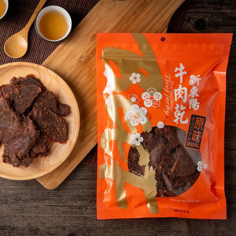 【新東陽】原味牛肉乾 (230g*2包)