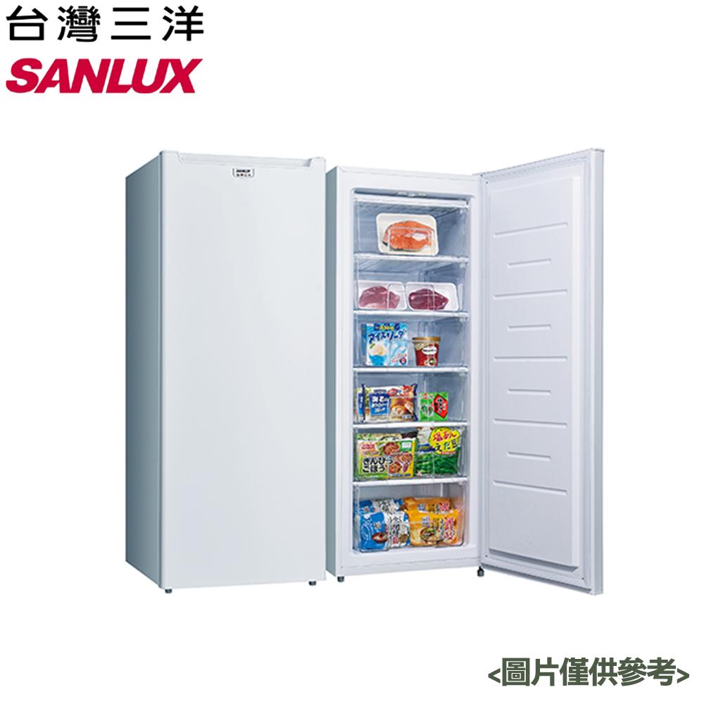 【SANLUX台灣三洋】181L 單門直立式冷凍櫃 SCR-181AE