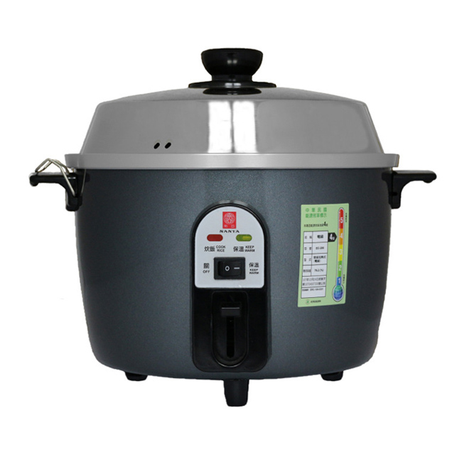 【南亞牌】10人份不鏽鋼電鍋(鐵灰色) EC-210
