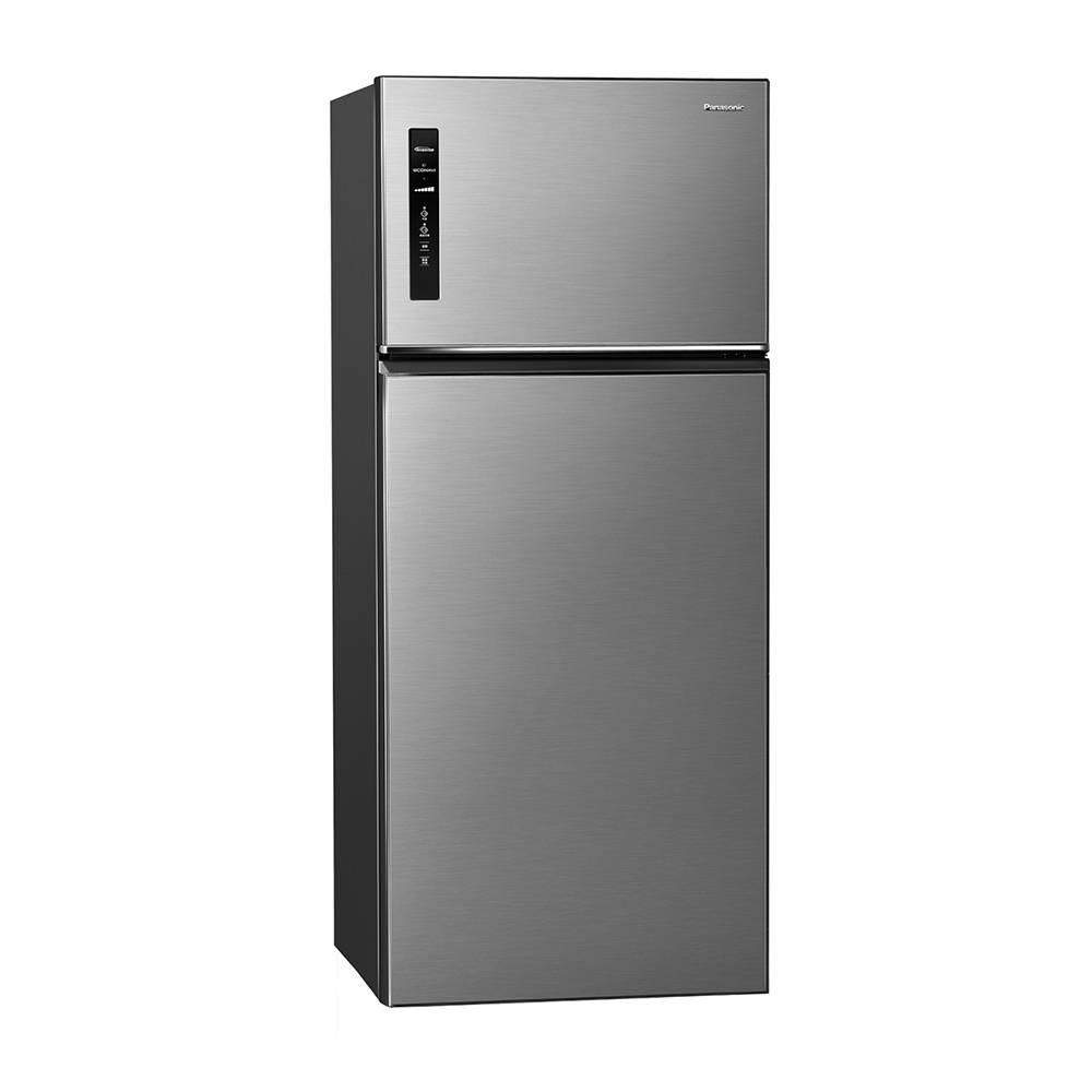 Panasonic 579L無邊框鋼板變頻雙門電冰箱 晶漾銀 NR-B581TV-S【贈基本安裝】