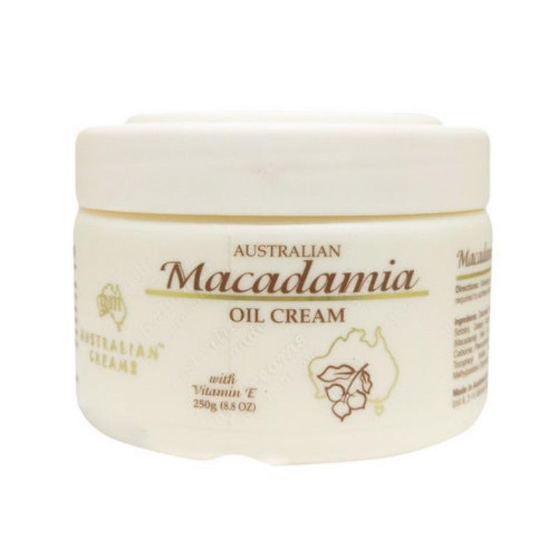 澳洲G&M 夏威夷豆潤膚綿羊霜 Macadamia Oil Cream 250g